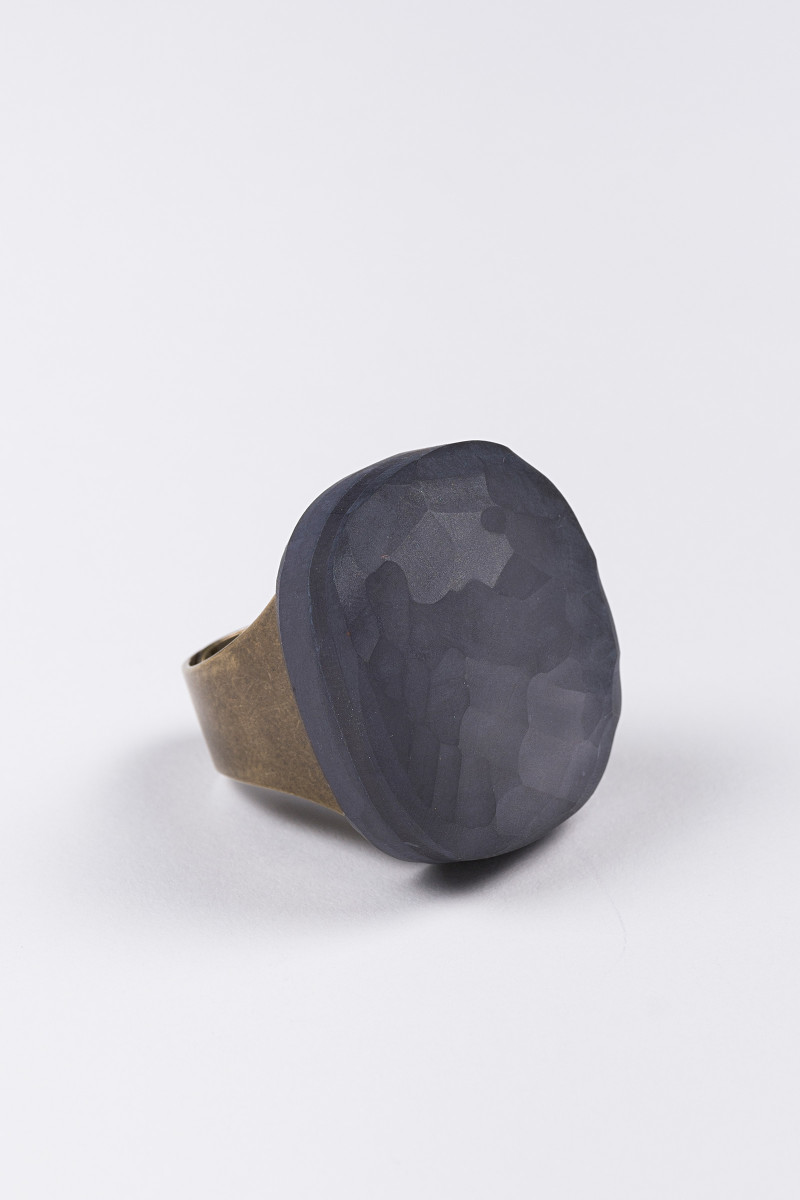 Grey Stone Ring cover