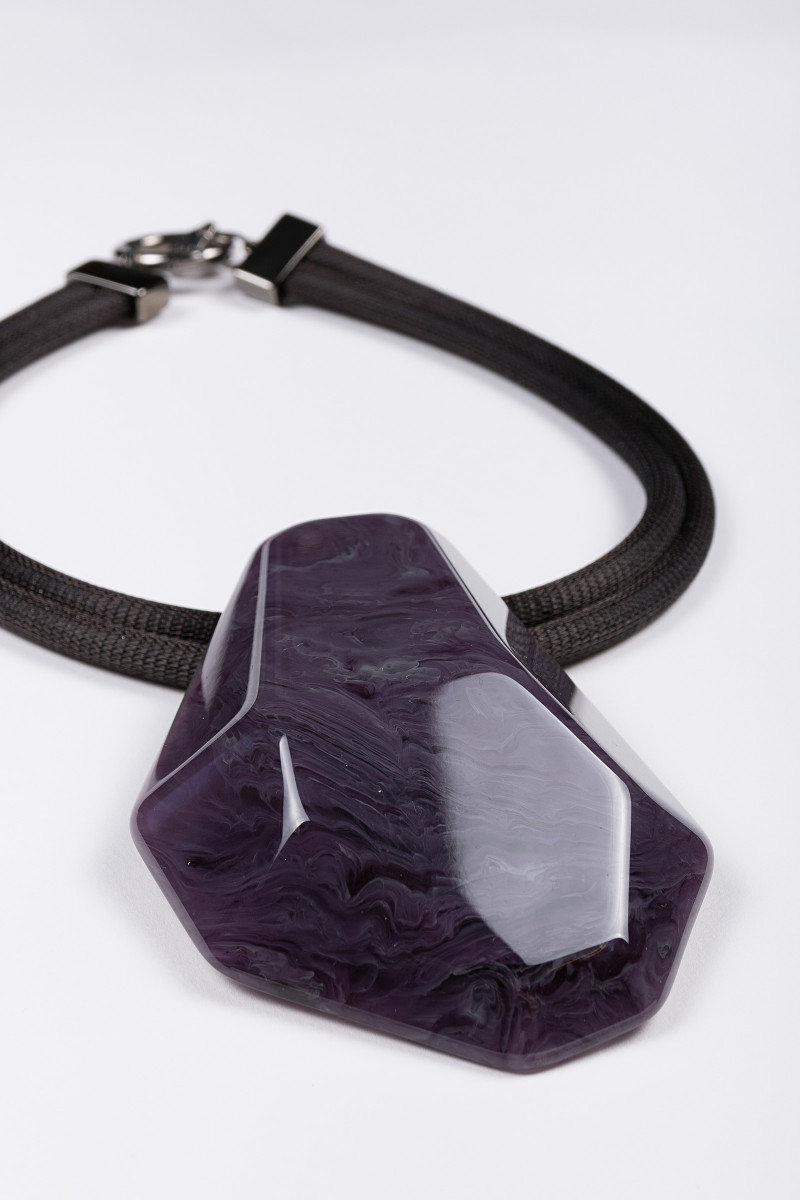 Purple Stone Necklace cover