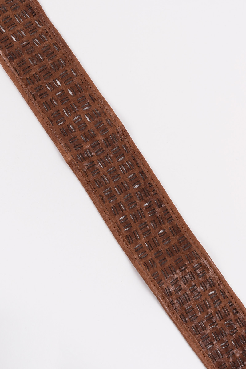 Brown Leather Sash cover
