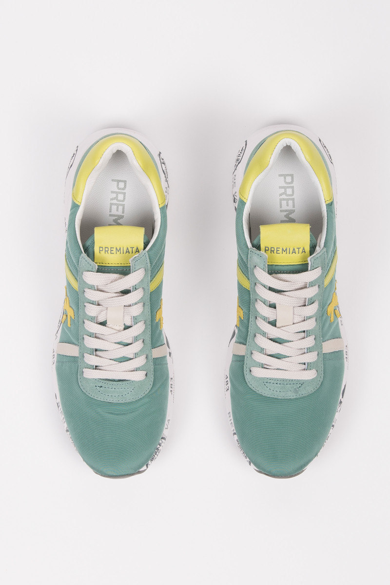 Aquamarine Mattew Style Sneakers cover