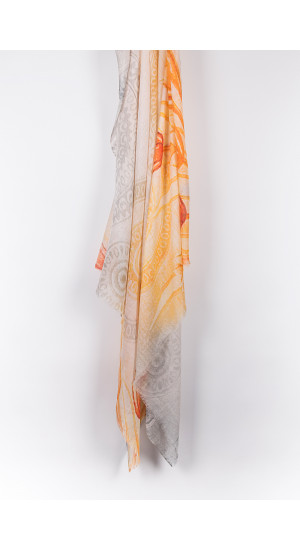 Light Colors Scarf front
