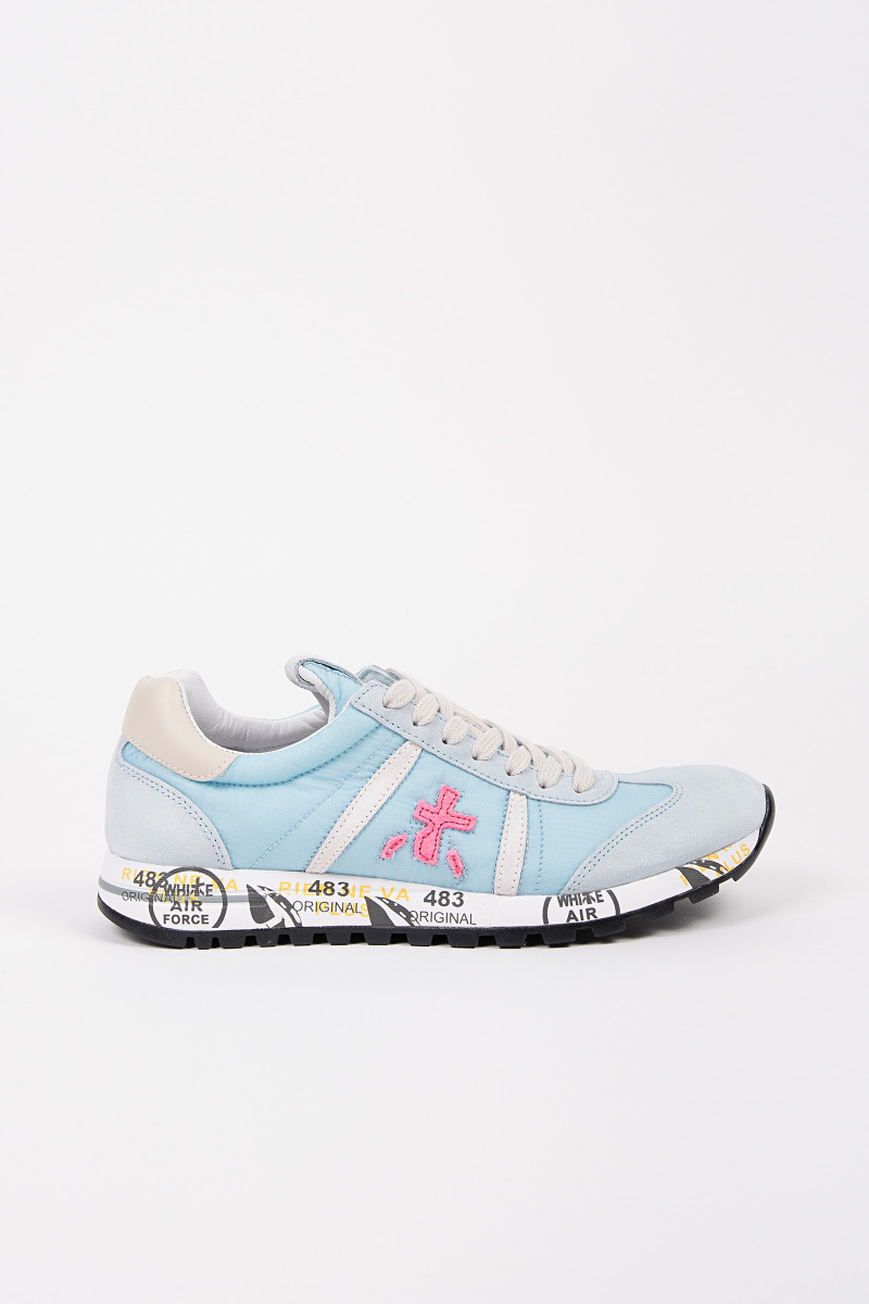 Blue&Pink Lucy Sneakers cover