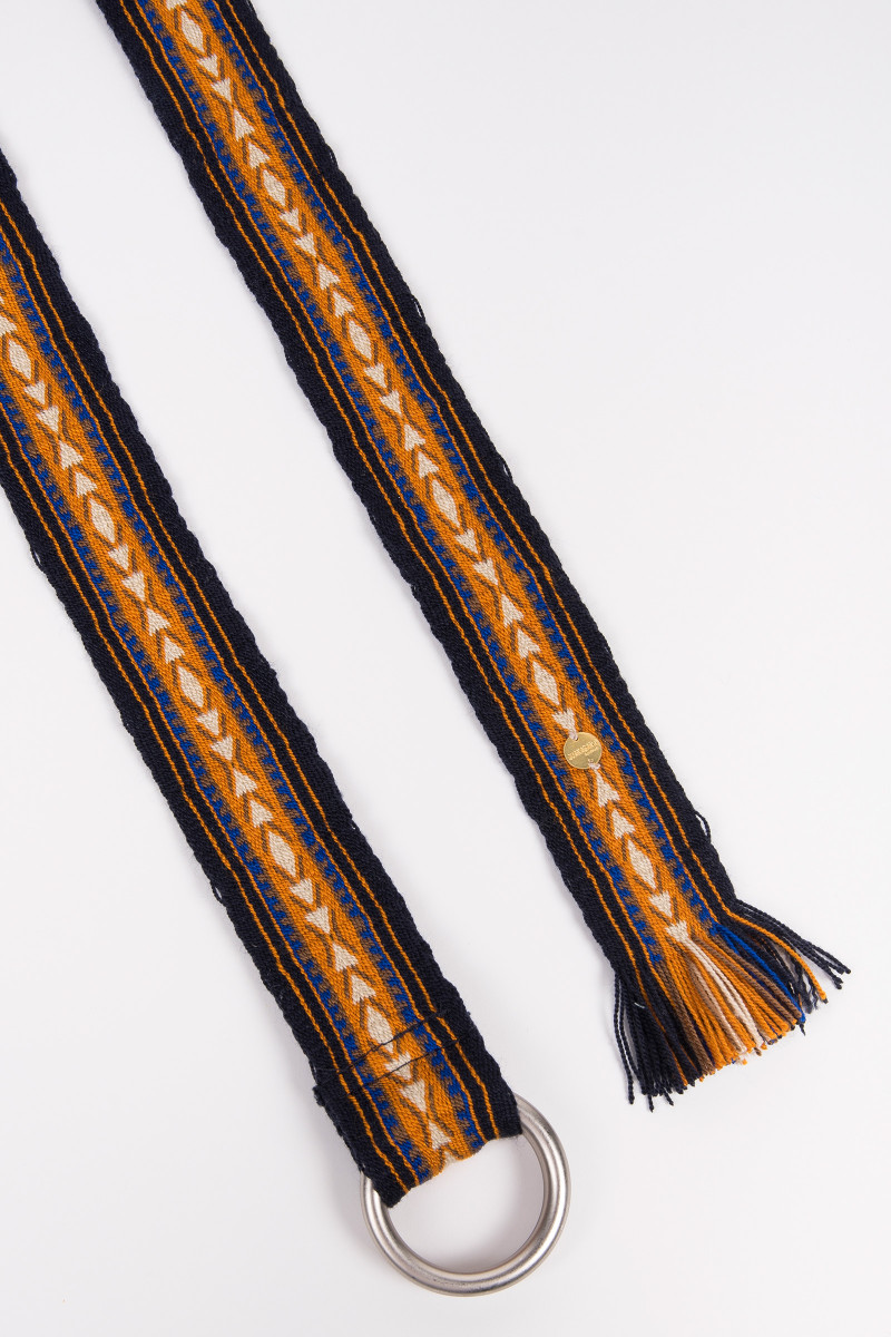 Navy Blue Ethnic Belt cover