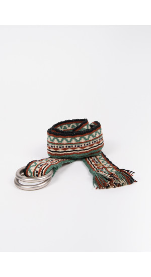 Green Ethnic Belt cover
