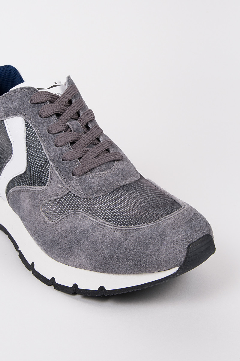 Grey Liam Race Mesh Sneakers cover