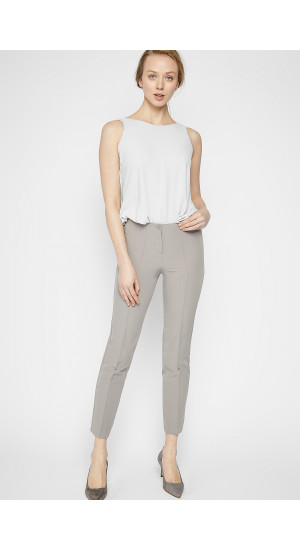 Grey Elastic Pants cover