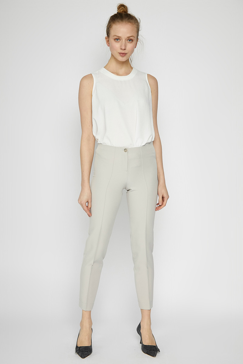 Off White Elastic Pants cover