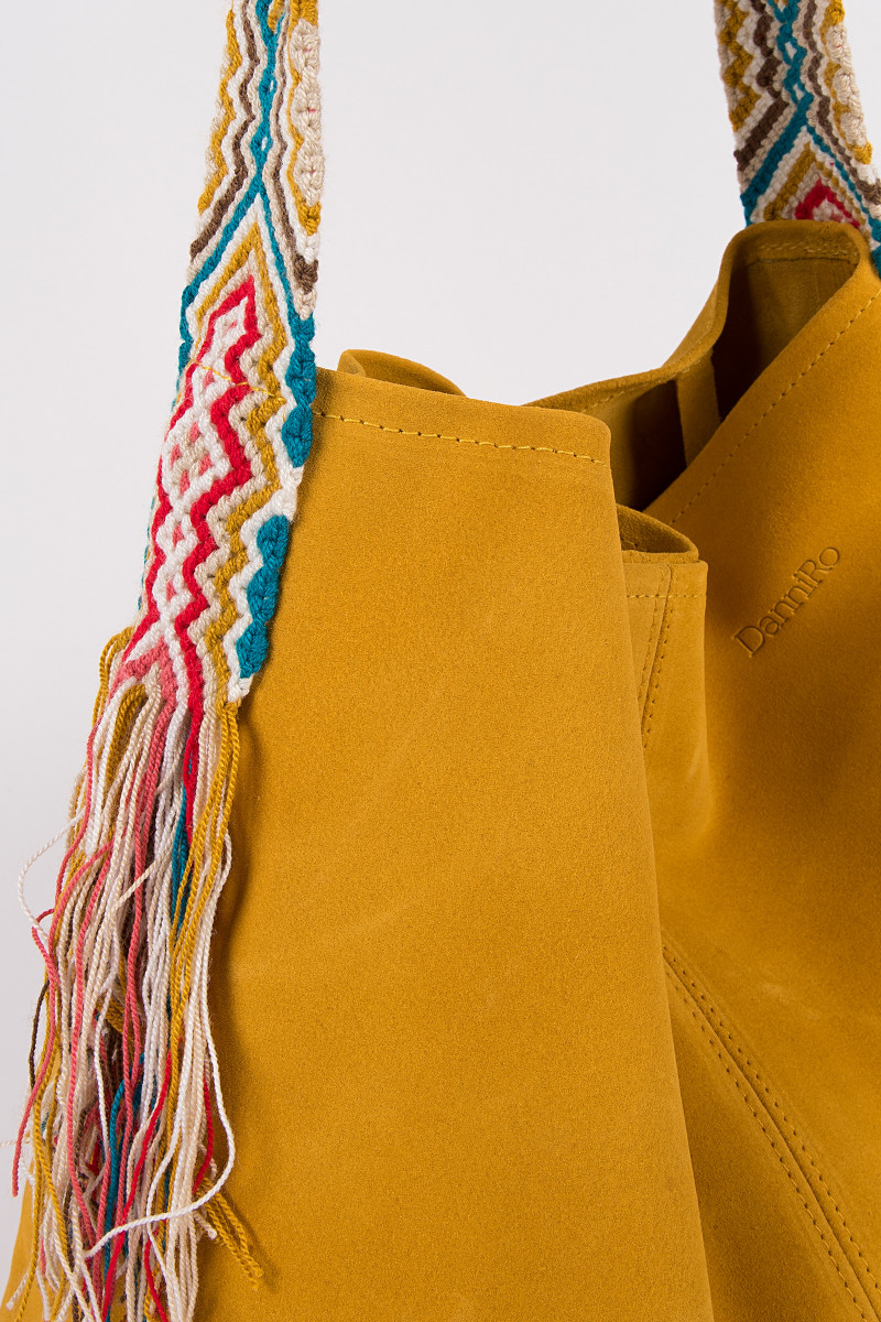 Mustard Color Nao Bag  cover