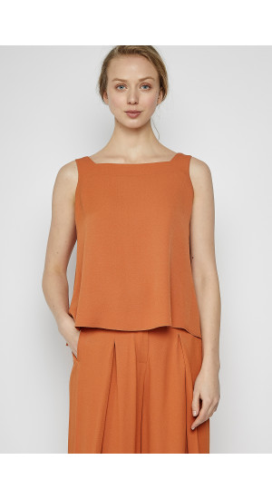 Orange Wide Strap Top cover