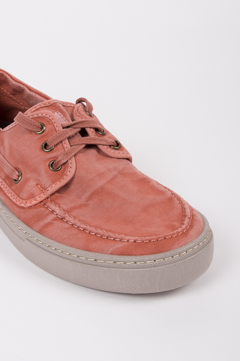 Coral Color Nautical Sneakers cover