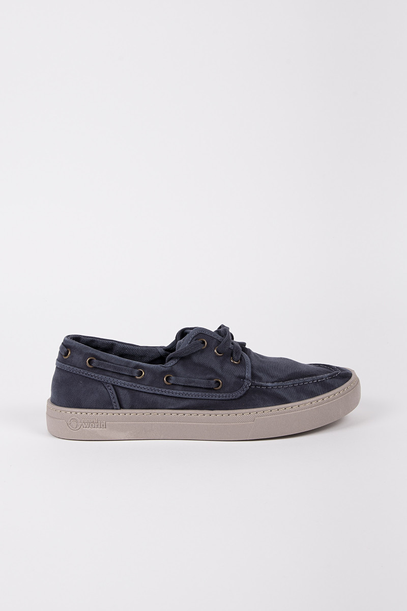Navy Blue Nautical Sneakers cover
