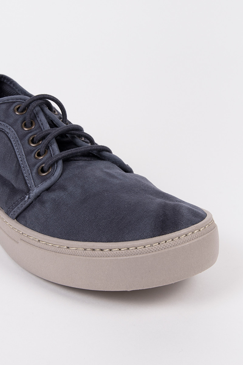 Navy blue Canvas Casual Sneakers cover