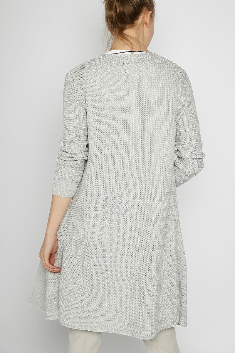 Pearl Gray Knit Frock Coat cover