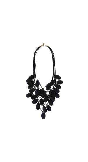 Black Petals Necklace cover