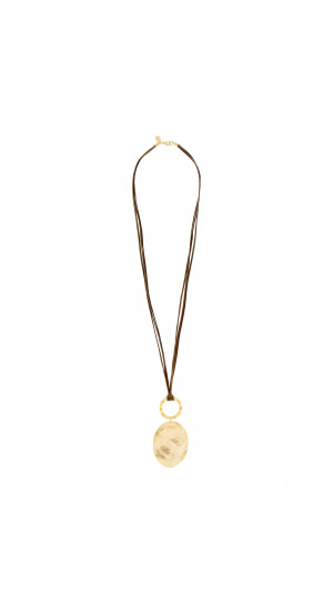 Gold Plated Long Necklace cover