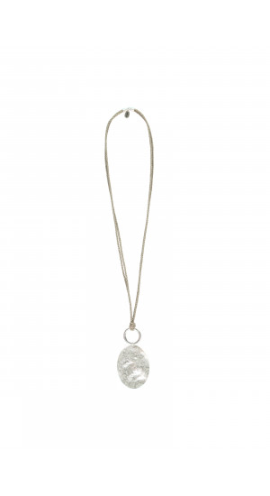Silver Plated Long Necklace cover