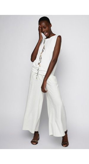 Ivory Wide Pants