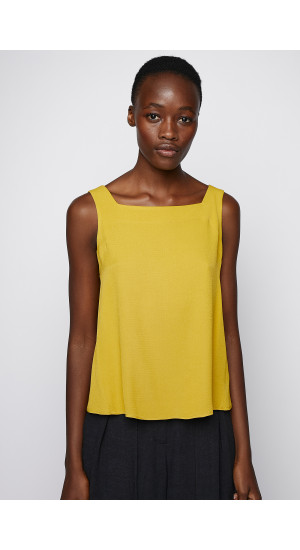 Yellow Wide Strap Top cover