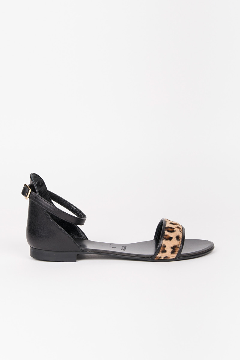 Animal Print Flat Sandal cover