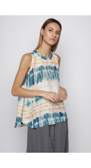 Tie-Dye Printed Top cover
