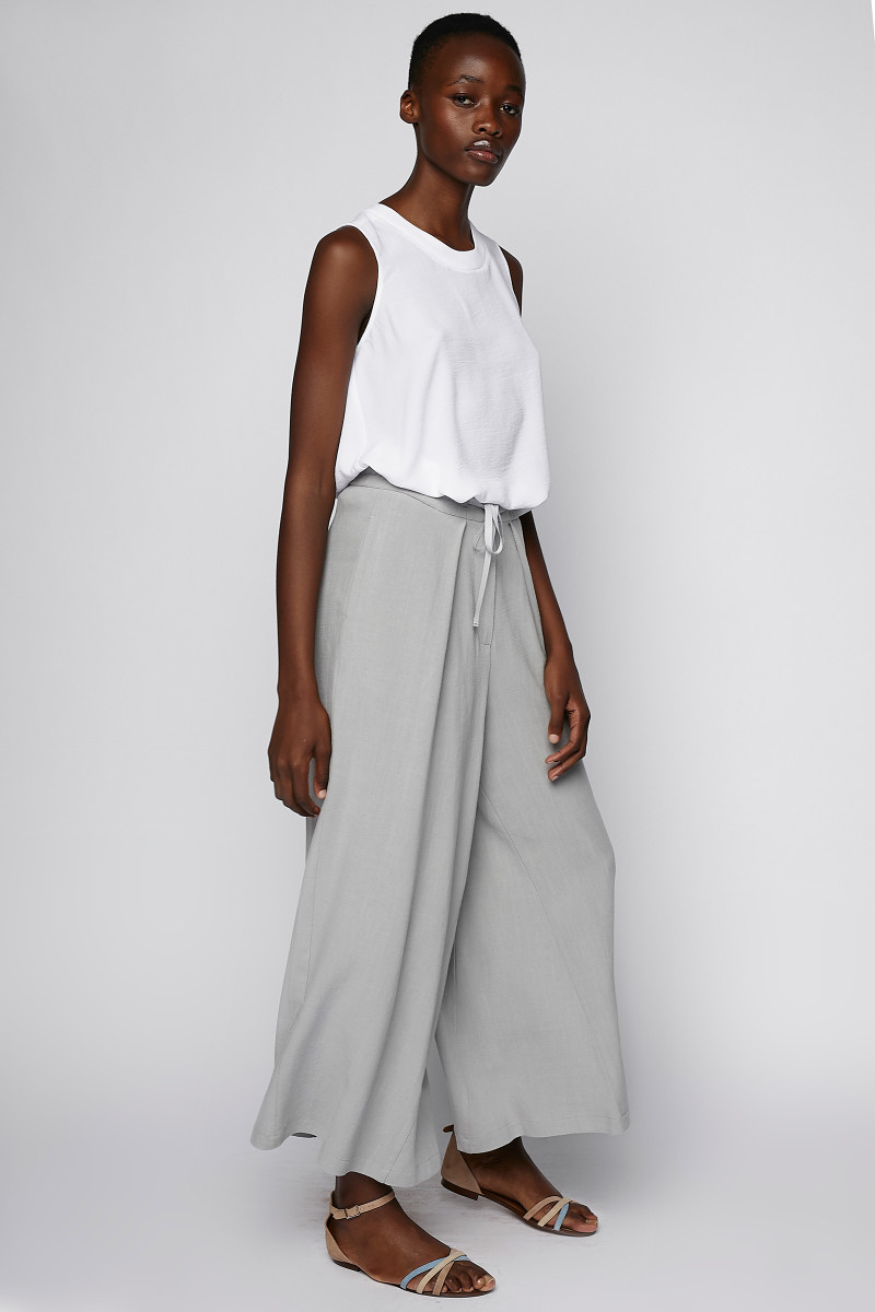 Grey Wide Pants cover