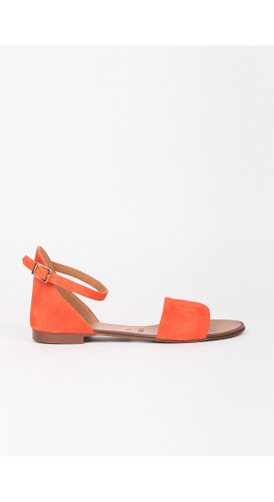 Tile Color Flat Suede Sandal cover