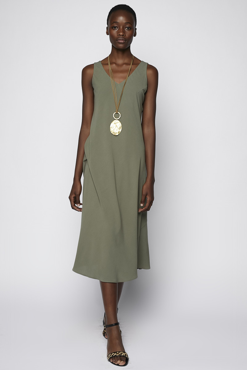 Green Straps Dress cover