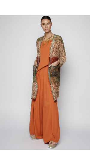 Paisley Printed Frock-Coat cover
