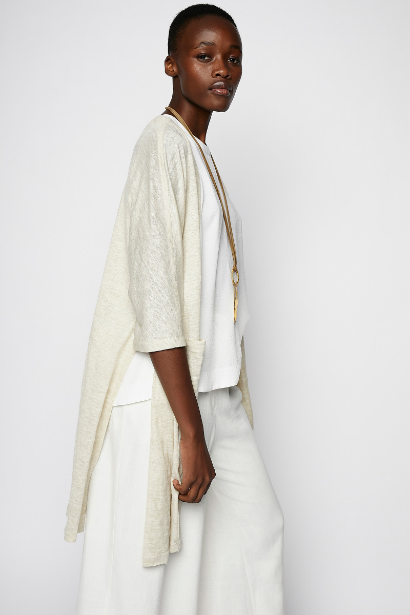 Ivory Knitted Frock-Coat cover