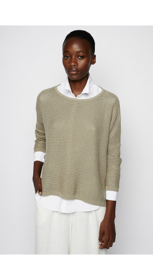 Stone Colored Sweater cover
