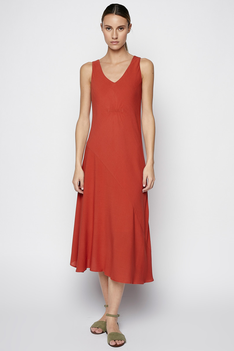 Red Strappy Dress cover
