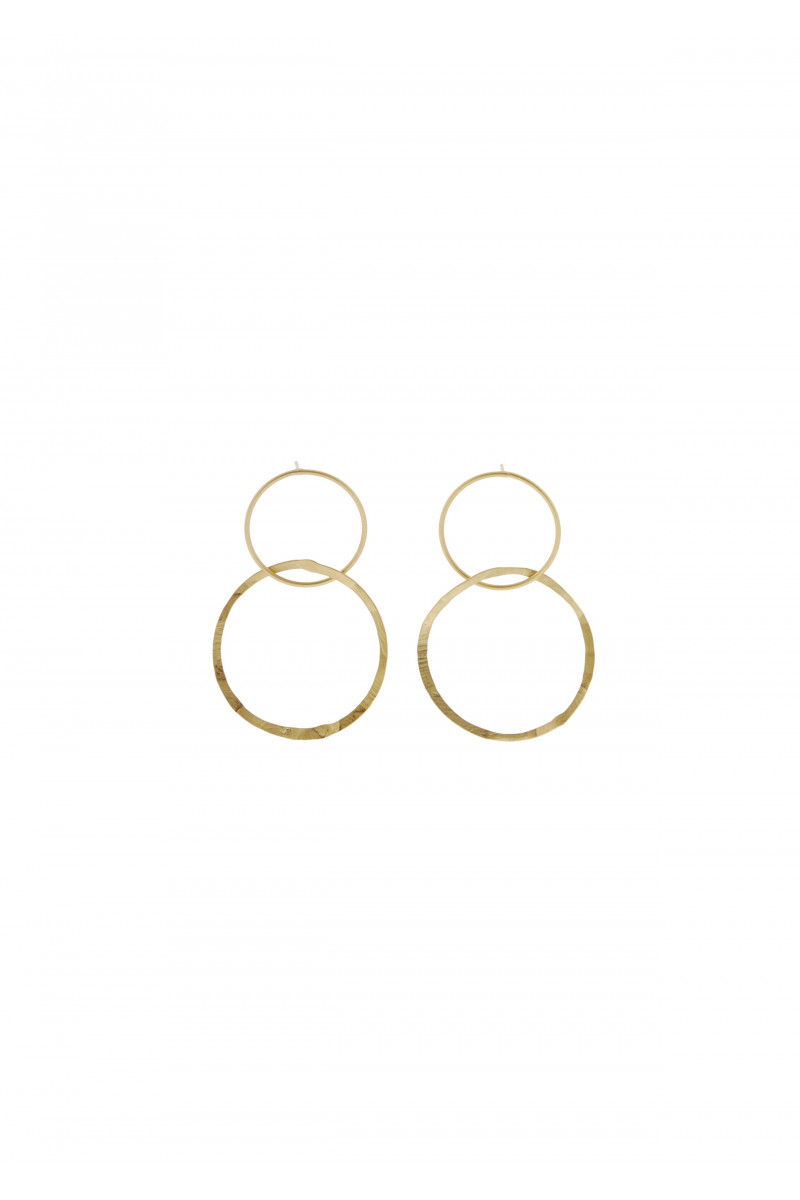 Double Gold Earrings cover