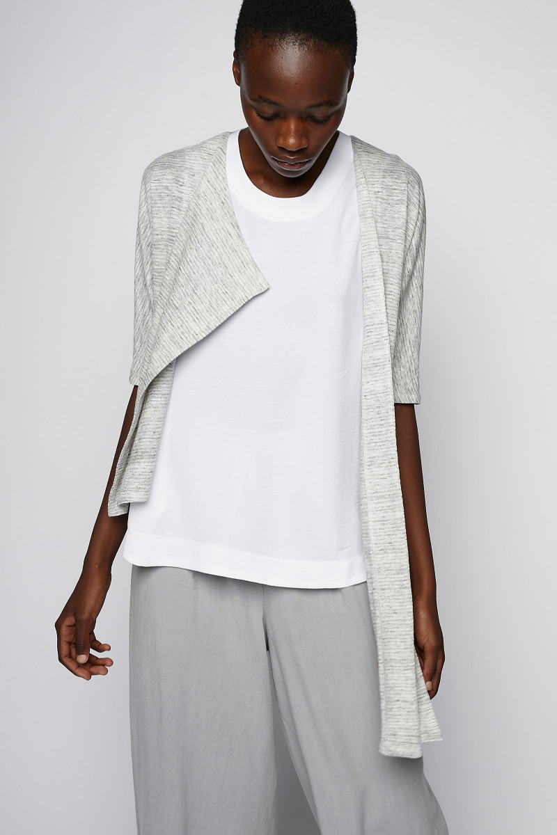 Grey Knitted Jacket cover