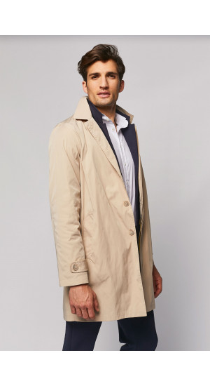 Beige Waterproof Trench