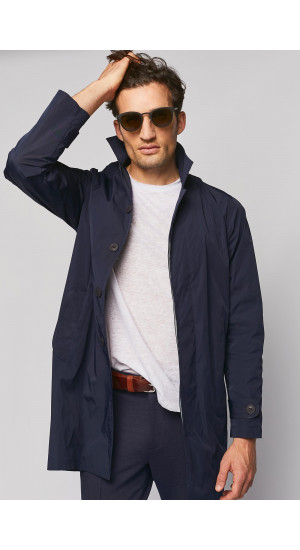 Navy Blue Raincoat cover