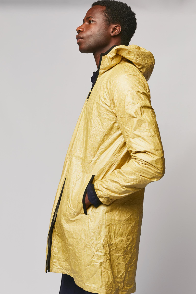 Golden Unisex Waterproof Jacket cover