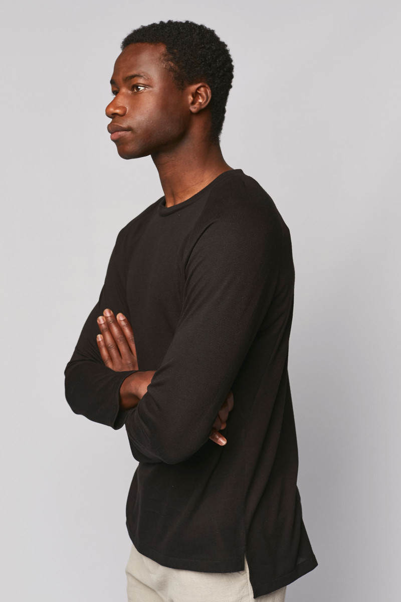 Black Long Sleeve T-Shirt cover