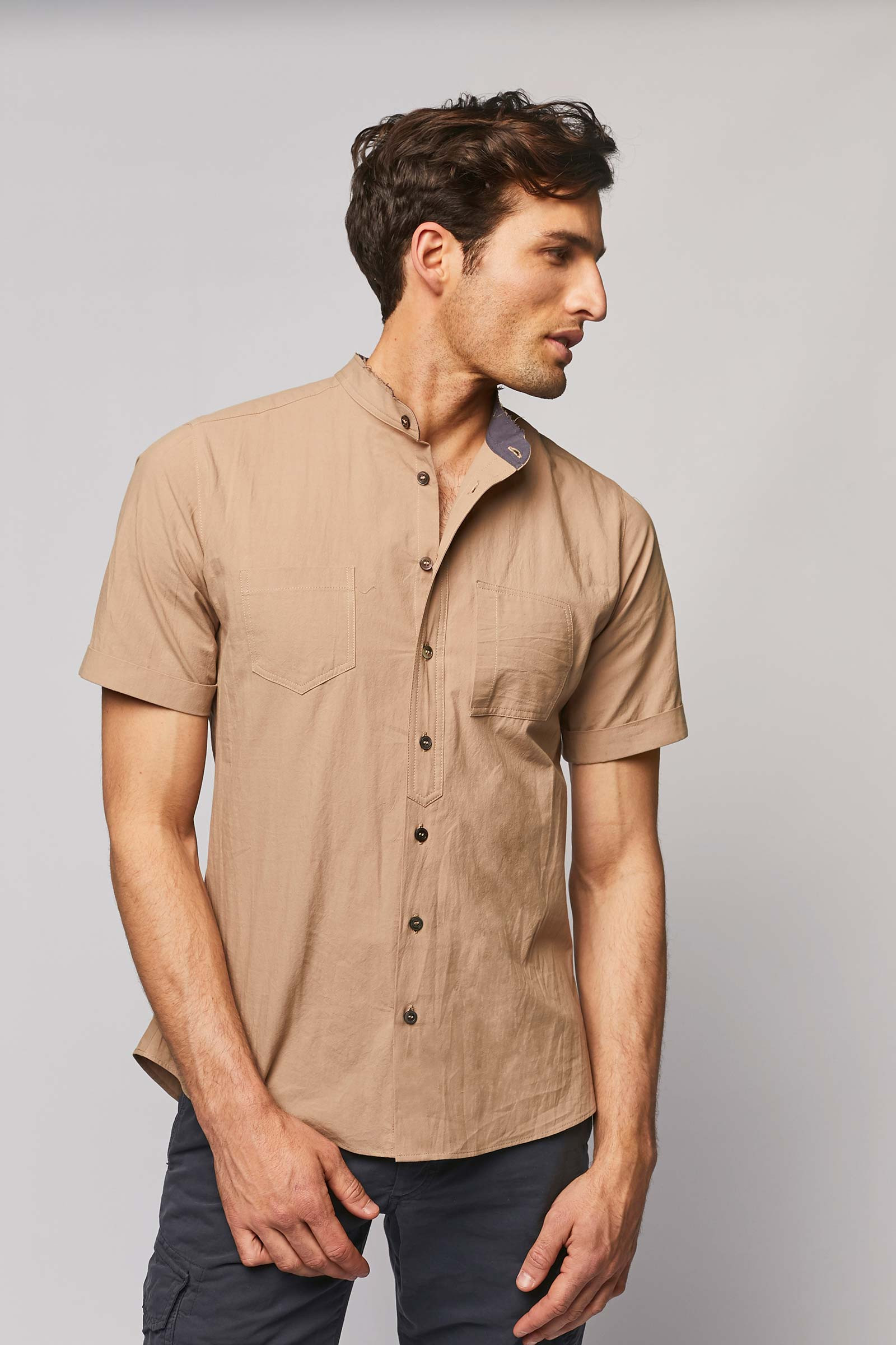 Discover This Beige Shirt cover