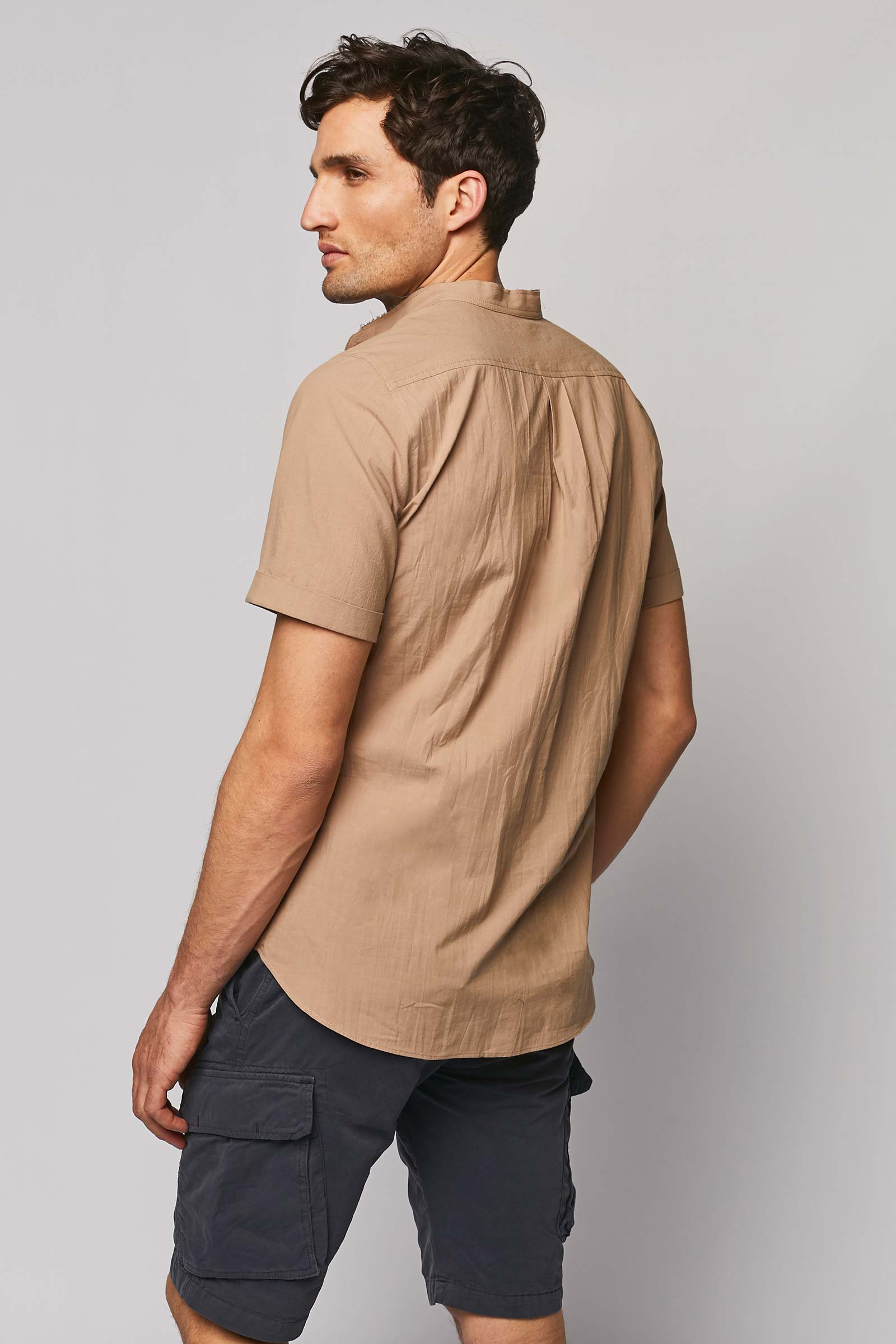 Discover This Beige Shirt back