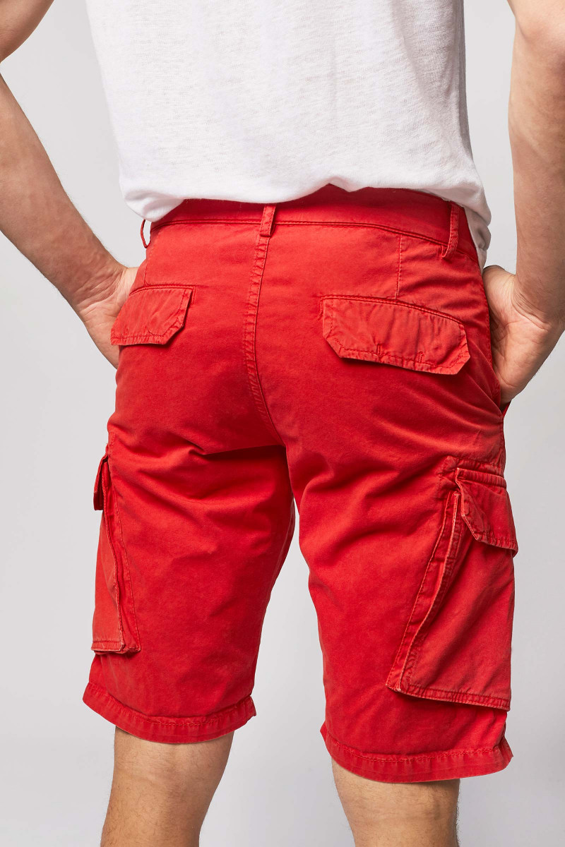 Bermuda Shorts In Red cover