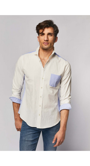 Two-tone shirt cover