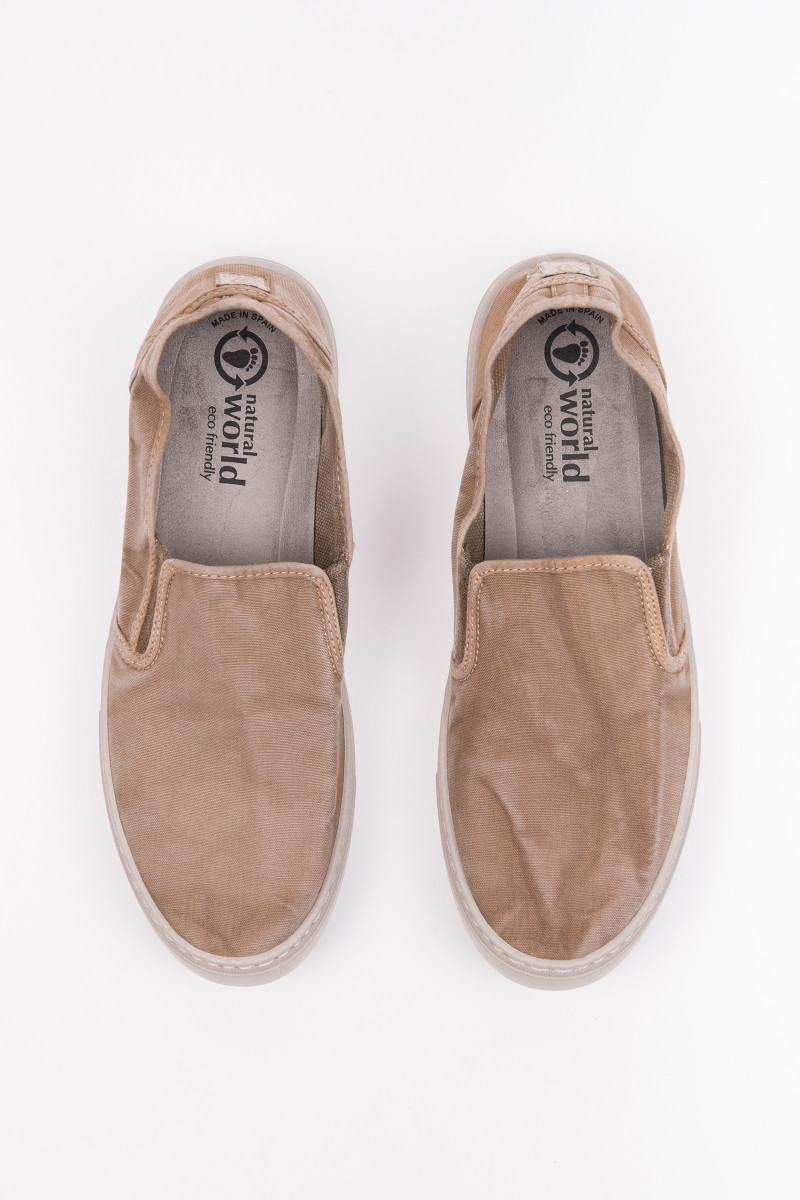 Beige Slip On Sneakers cover