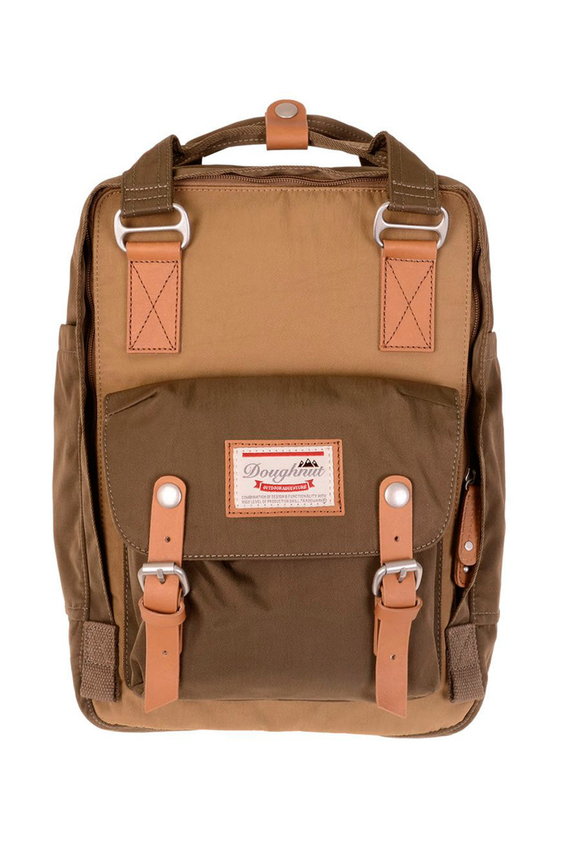 Doughnut Khaki-Army Backpack cover
