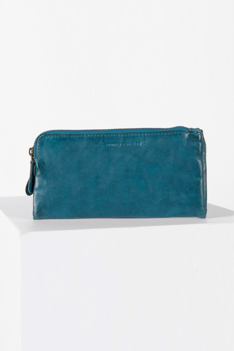 Petrol Blue Wallet cover