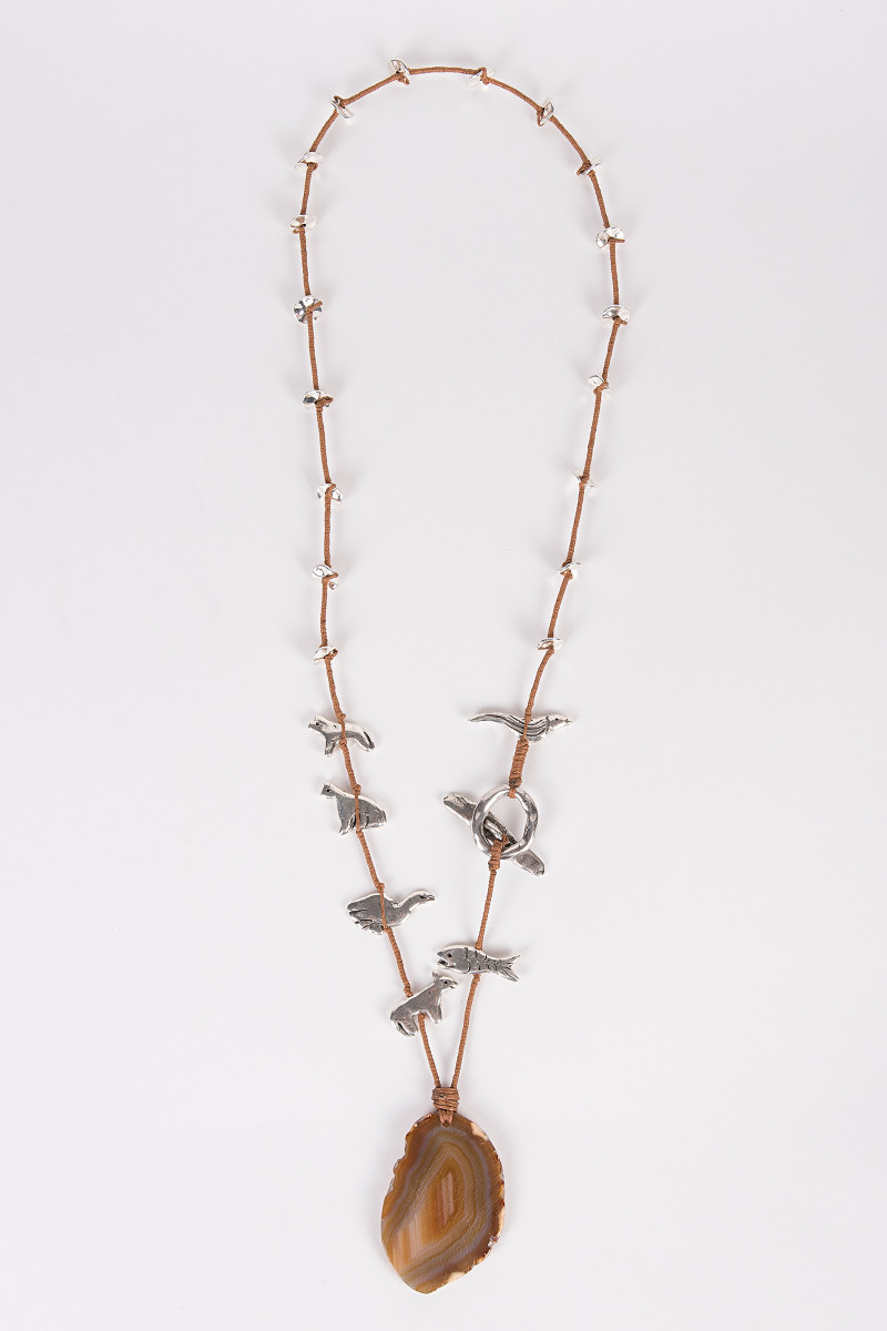 Metallic Animals Long Necklace cover