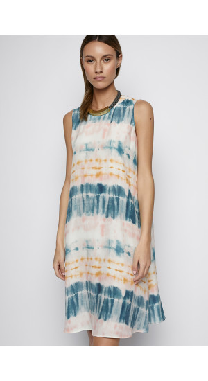 Tie-Dye Printed Dress cover