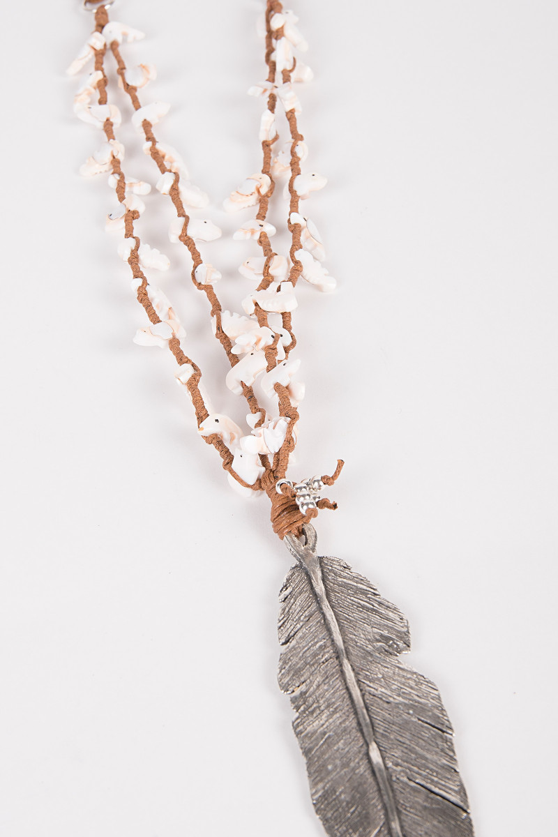 Silver Feather Necklace cover