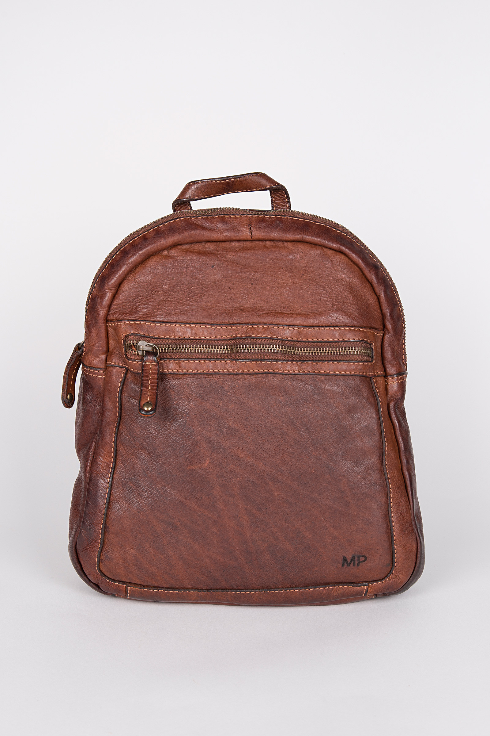 Oslo 006 Cognac Backpack cover