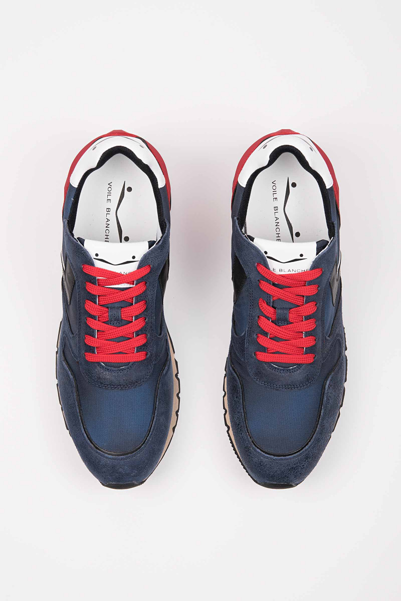 Liam Power Blue-Red Sneakers