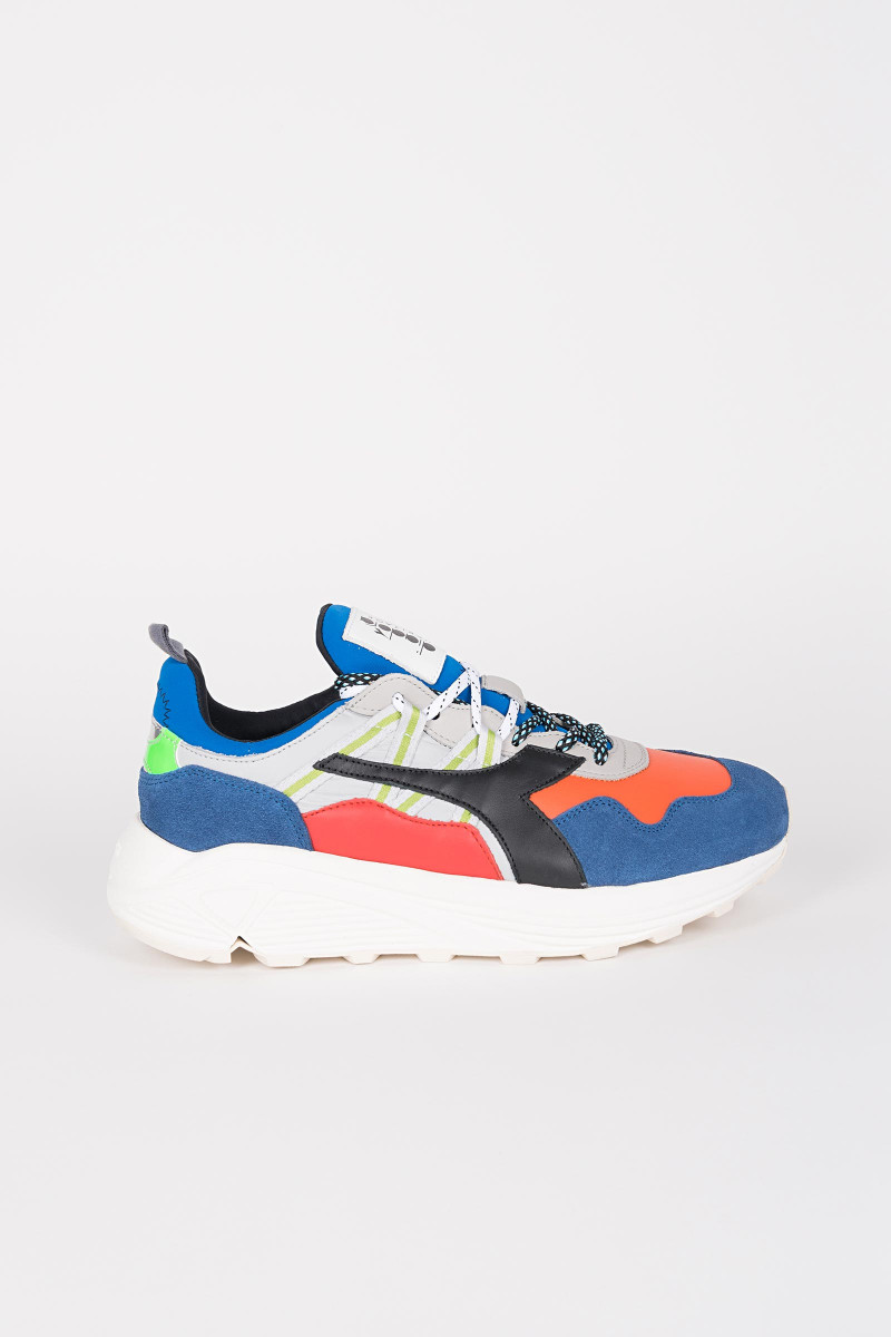 Diadora Heritage Rave Leather Pop Sneakers  Eduardo & Elisa Rivera